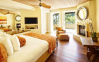 Luxury bedroom at Auberge du Soleil, luxury hotel in Napa & Sonoma Valley