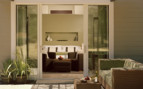 The suite terrace at Solage Calistoga, luxury hotel in Napa and Sonoma Valleys