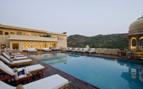 Swimming pool at Samode Palace