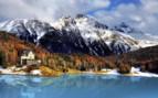 Mountain Lake St Moritz