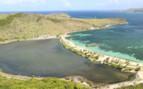 Beach on St Kitts