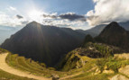 Sunrise over Machu Picchu