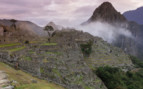 Machu at sunrise