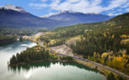 Rocky Mountaineer, Canadian Rockies