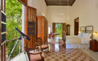 Bedroom interior at Hacienda Temozon hotel