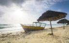Tanzanian Coast Boat on the Sands