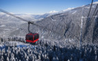 Cable Car over Whistler Mountain