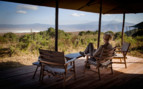 Deck overlooking the Ngorongoro Crater