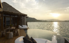 View from the deck at Song Saa, luxury hotel in Cambodia