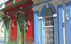 Colourful Buildings in Nicaragua