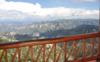 Views from Copper Canyon at Hotel Mirador