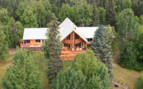 Aerial view of Winterlake Lodge