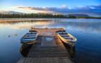 Boating Dock at Winterlake Lodge