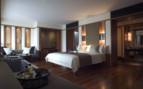 Double bedroom at The Setai hotel