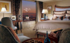 Luxury suite at Bellagio hotel
