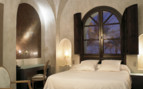 Bedroom at Palacio del Bailio, luxury hotel in Spain