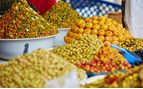 Food market in Morocco