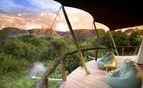 Safari Lodge tent deck