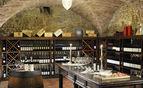 Wine tasting in the cellar