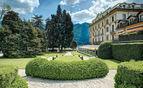 Hotel garden at villa D'Este