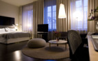 Luxury suite at Nobis Hotel, luxury hotel in Stockholm, Sweden