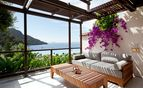 terrace and view of sea