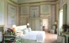 Luxury bedroom at Castello Del Nero