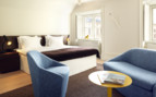 Suite at Hotel Skeppsholmen, luxury hotel in Stockholm, Sweden