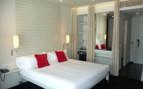 Double bedroom at Miro Hotel