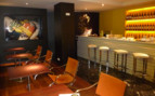 The bar at Hotel Miro, luxury hotel in Spain