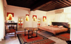 Bedroom at Rohet Garh, luxury hotel in India