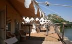 Tent exterior at Chhatra Sagar hotel