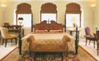 Large bedroom at Rambagh Palace hotel