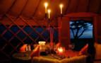 Romantic dining at Nduaro Loliondo, luxury camp in Tanzania