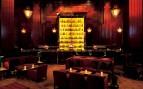 The bar area at Clift Hotel, luxury hotel in Santa Teresa