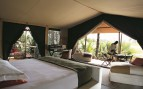 Double Bedroom at Chem Chem, luxury Lodge in Tanzania