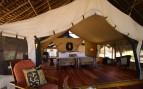 Luxurious tents at Jongomero, luxury hotel in Tanzania