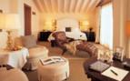 Bedroom at Villa Feltrinelli, luxury hotel in Italy