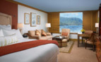Double room at St. Regis Princeville, luxury hotel in Hawaii