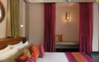 Bedroom at Usha Kiran Palace, luxury hotel in India