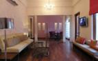 The interior at Usha Kiran Palace