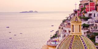 View Across the Amalfi Coast