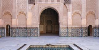 Saadian tomb Marrakech