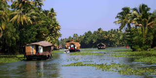 Boats on the backwaters