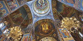 Church of Spilled Blood Ceiling