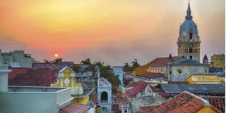 Rooftop View of Cartagena