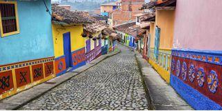 Colourful Houses, Bolivia