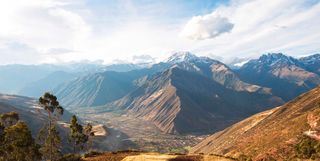 Sacred Valley landscape