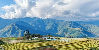 bhutan countryside