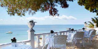 outdoor restaurant at Danai